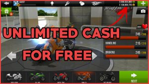 Get Unlimited Cash in Traffic Rider