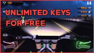 Get Unlimited Keys in Traffic Rider