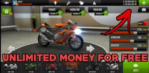 unlimited money in traffic rider
