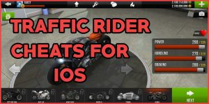 traffic rider cheats ios